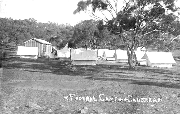 Surveyors Camp c1910