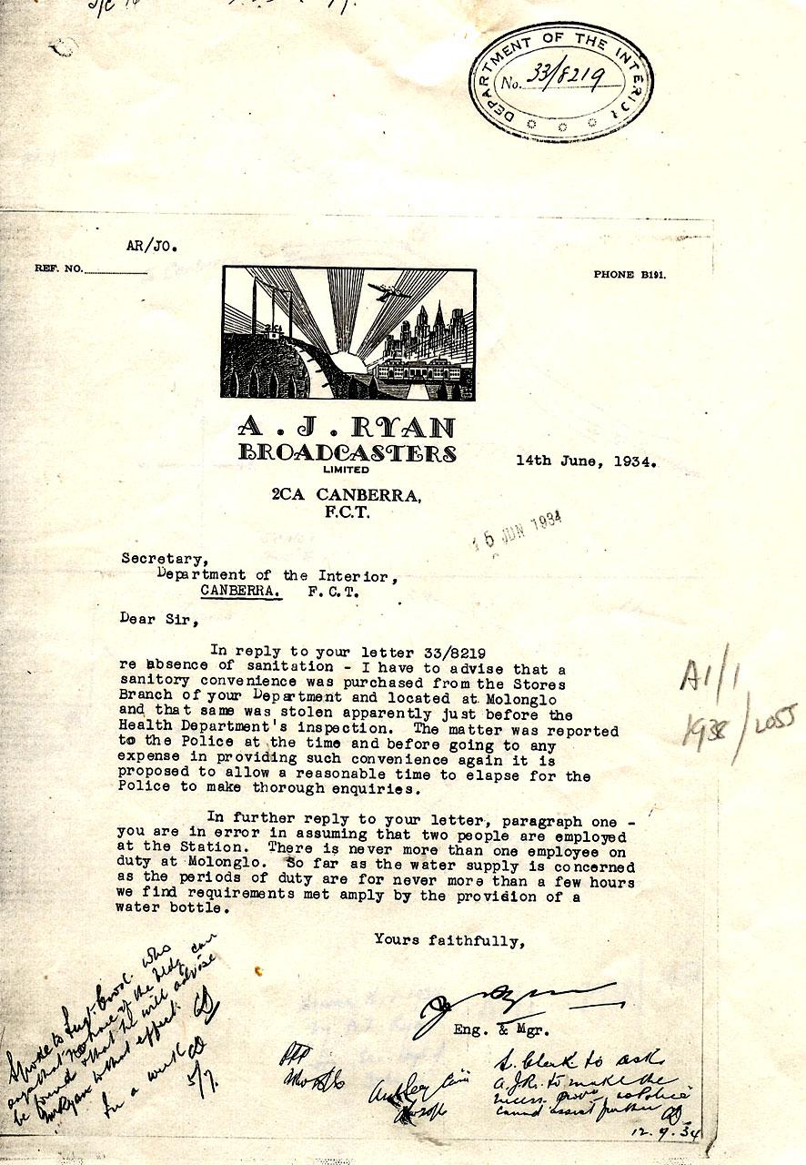AJ Ryan letter