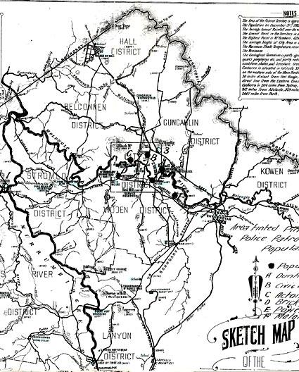 Major Centres 1920