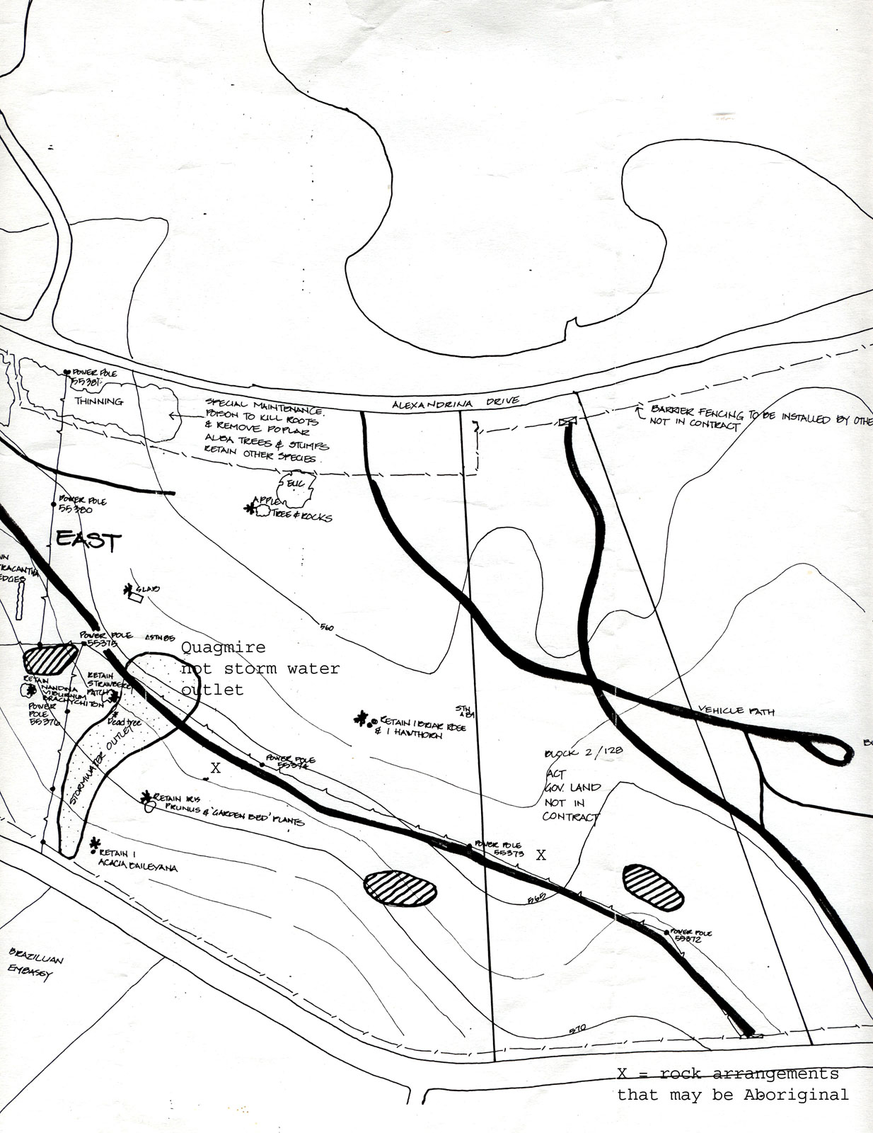 NCA map bla 2 & 3 Sec 128 Stirling Park