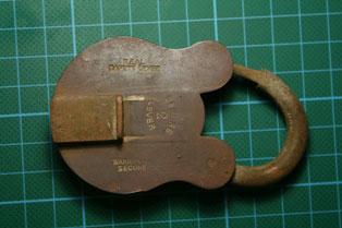 Metal lock Howie's site Westlake