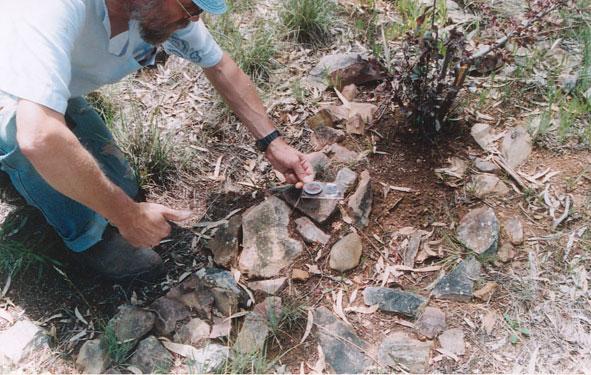 Detail Second Stone Arrangement